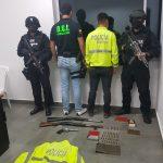 PEDERNALES ▮Un detenido y 3 armas de fuego decomisadas en allanamiento