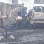 MANTA▮Un hombre muere incinerado tras volcamiento en un vehículo tanquero