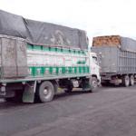 MORONA_SANTIAGO▮ Retienen vehículos que transportaban madera