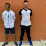 JARAMIJÓ ▮ Detienen a dos sujetos por secuestro extorsivo a un ciudadano