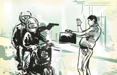 En Manta sacapintas roban a un mujer cuando se dirigía a varios bancos