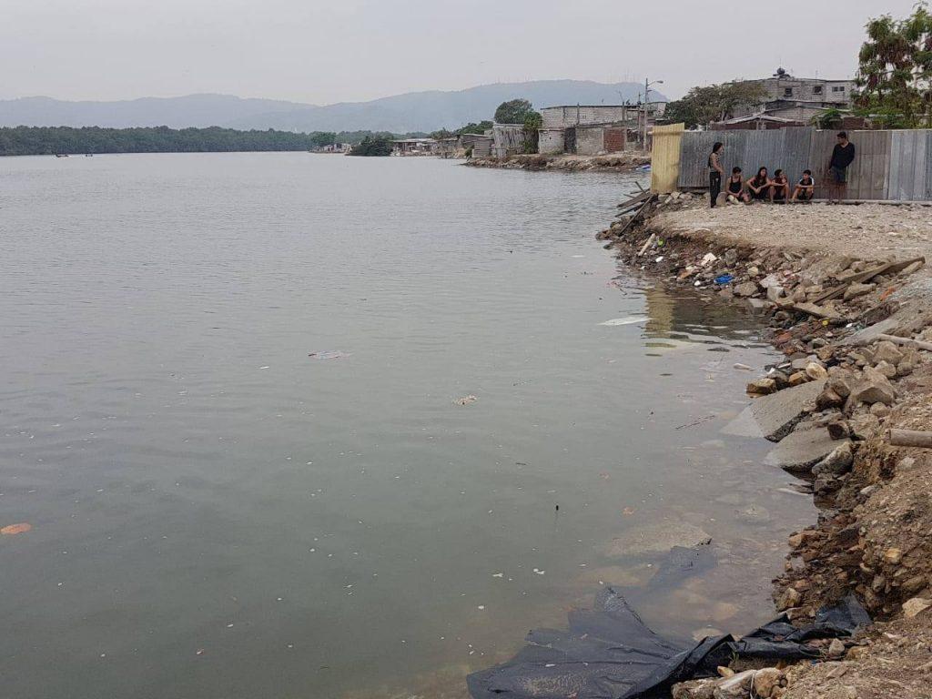 Guayaquil, la cabeza de un hombre flotaba en una funda