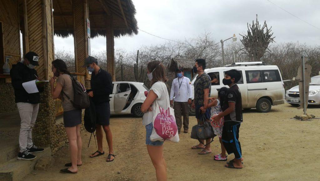 MANABÍ | 2.800 turistas visitaron las áreas protegidas