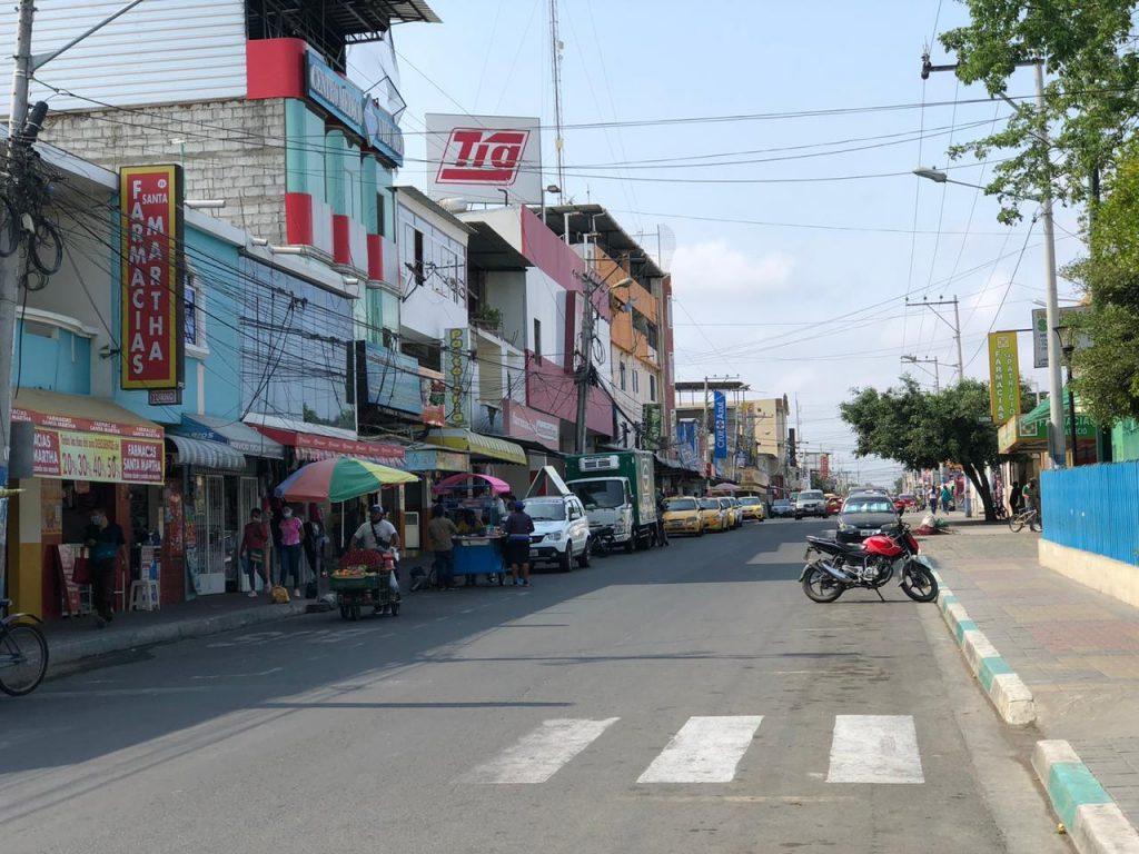 Suspenden el servicio de agua en Eloy Alfaro de Manta