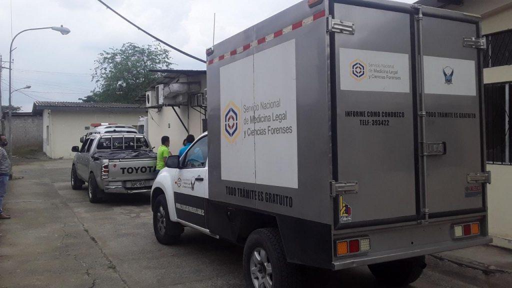 En Jipijapa, un carro aplasta a un adulto mayor, quien era padre de seis hijos