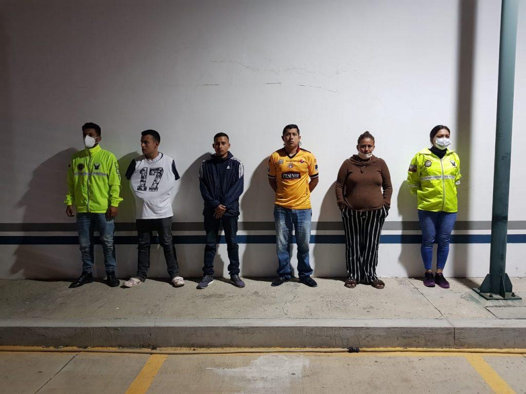 Desarticulan una banda delictiva de robo y asalto en Manta.