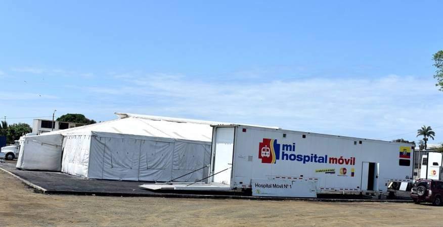 Ciudadanos se quejan de la pésima atención en el Hospital Móvil de Pedernales