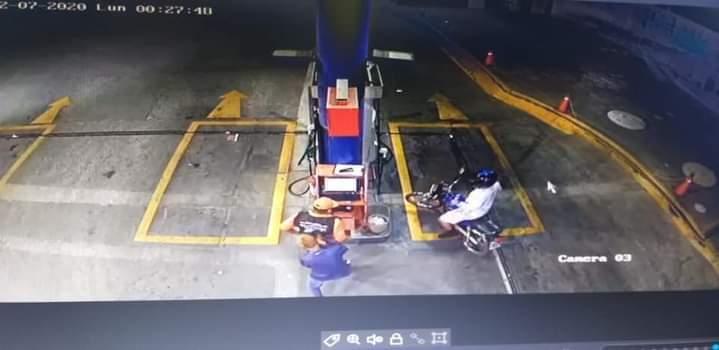 Asaltan gasolinera a mano armada en Portoviejo