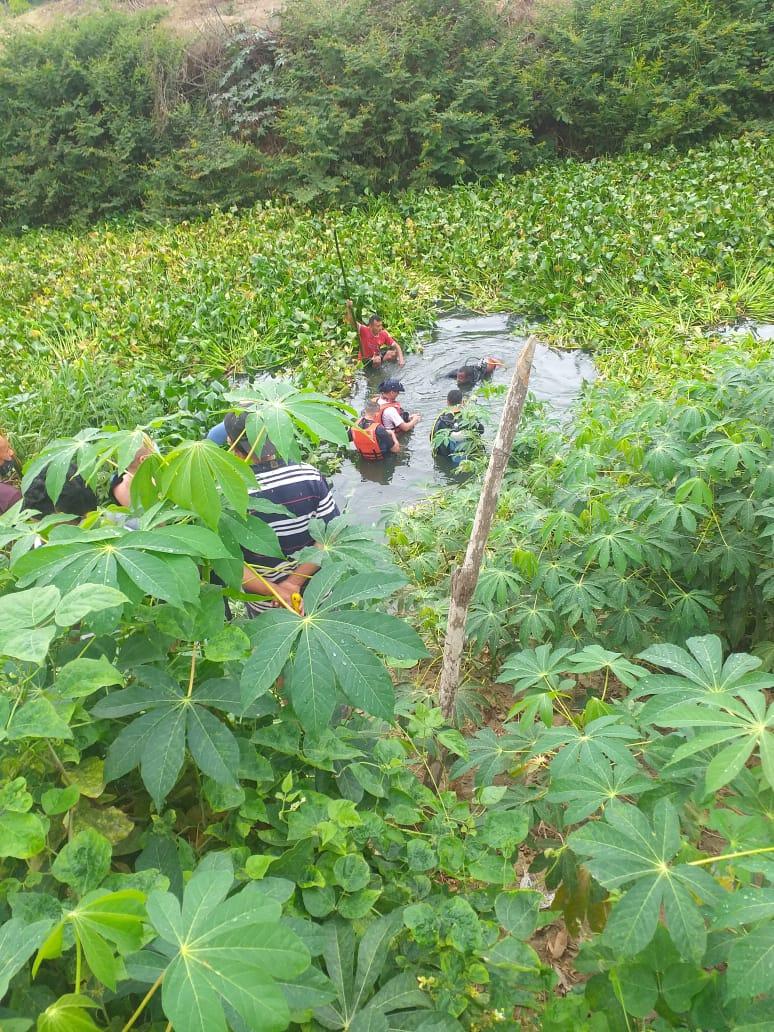 Apareció el cadáver del hombre que había desaparecido en el río Portoviejo