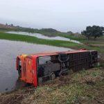 VENTANAS ▮ Dos fallecidos y 19 heridos por volcamiento de bus interprovincial