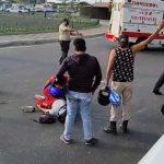 ❖ VÍA MONTECRISTI – MANTA ▮ Nuevo accidente de tránsito en el redondel de la Tejedora